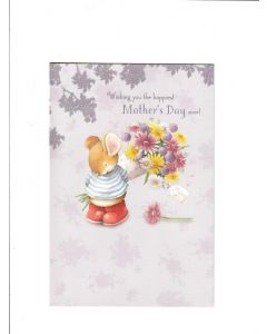 wishing you the happiest mothers day ever Card