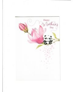 Happy Mother's Day Card - From Cute Panda
