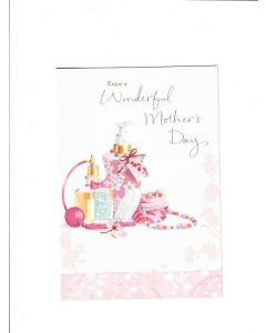 enjoy a wonderful mothers day Card