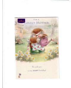 for a lovely mother to wish you a very happy birthday Card