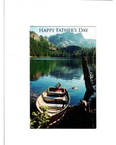 Happy Father's Day Card -  it's Boating Time