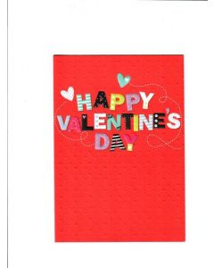 Happy Valentine's Day Card - Lots of Love