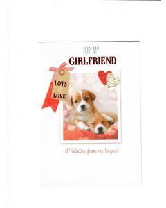 Happy Valentine's Day Card for My Girlfriend