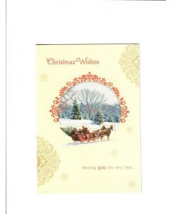 Christmas Wishes Card - It's Holiday Time