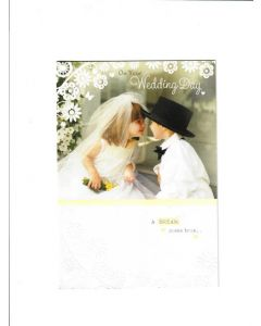 On Your Wedding Day Card - A dream come true