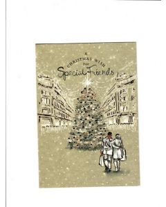 A christmas wish for special Friends Card 190mm X 125mm [PACK OF 6]