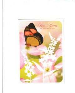 For Mum on mothers day LGS1780 Card 190mm X 132mm