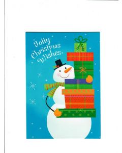 Jolly christmas Wishes Card