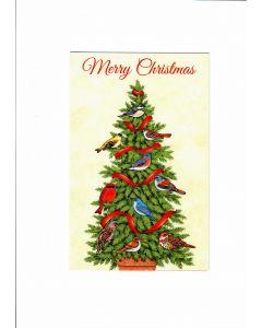 Merry Christmas Card - A Merry Christmas Tree