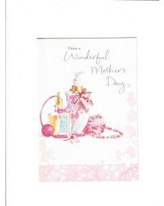 enjoy a wonderful mothers day LGS1802 Card 185mm X 125mm