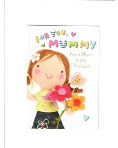 for a special nice Card 190mm X 130mm
