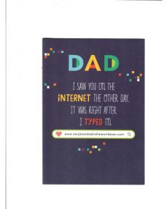 For A Special Dad Card