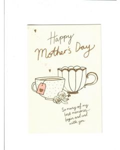 Happy Mothers Day Card - So Many of My Best Memories