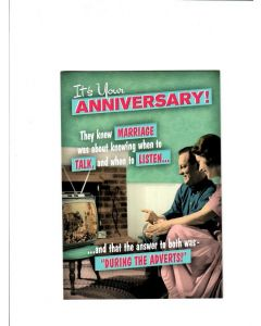 Its your Anniversary Card