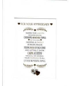 for your anniversary sharing your laughter Card