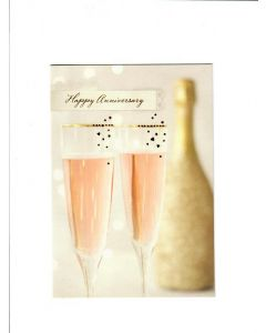 Happy Anniversary Card - Have a Drink