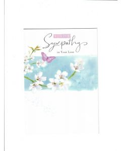 With our Sympathy in your Loss Card