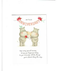 On Your Anniversary Card - Bring Happiness