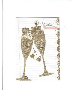 AN Anniversary Toast Card