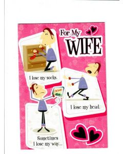for my wife Card