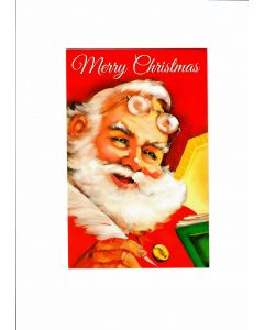Merry Christmas Card - Santa at your Place