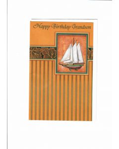 Happy birthday grand son Card