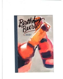 birthday beers cheers Card