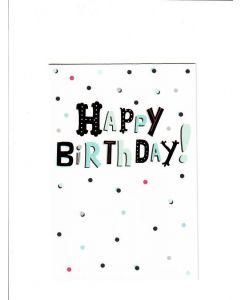 Happy birthday LGS1919 Card 190mm X 130mm
