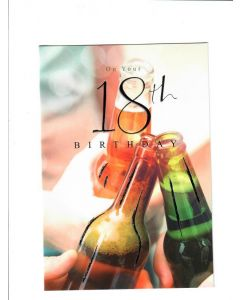 on your 18th Birthday Card