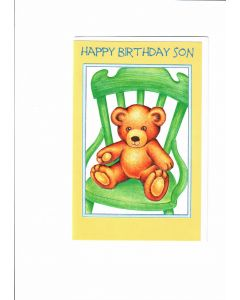 Happy Birthday Son Card - From Mother