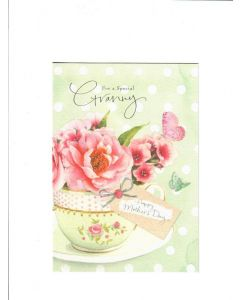 a mumwords that comfort a smile that understands and love that lants forever Card190mm X 130mm