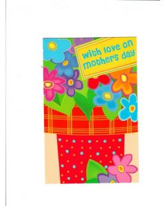 With Love on Mothers Day Card - Love You