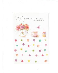 mum, have  awonderful mothers day Card 190mm X 130mm [PACK OF 6]