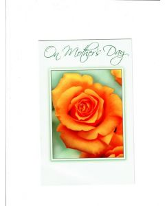 On Mothers Day Card - Roses