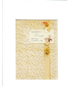 especially for you nana with love on mothers day Card 190mm x 130mm