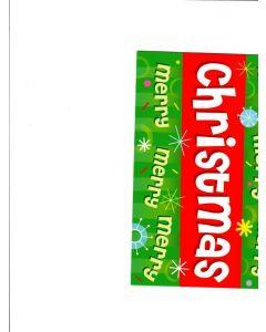 Mery mery mery christmas Card