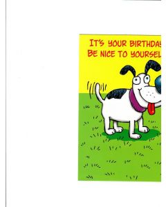 Its is your birthday be nice to your self Card