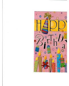 Happy Birthday card - Sweet Candles