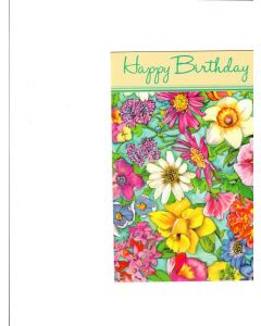 Happy Birthday Card - Floral Vibes