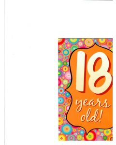 18 years lod Card