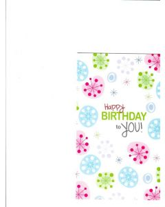 Happy Birthday To You Card - Sending Wishes To You