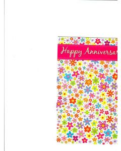 Happy Anniversary Card - Together Forever