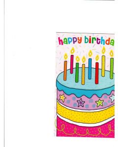 Happy Birthday Card - It's Your Day
