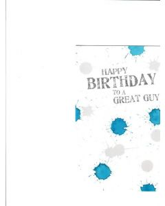 Happy Birthday to a Great guy Card