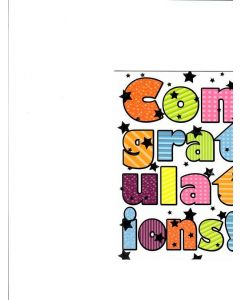 Congratulations Card - Best Wishes