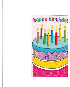 Happy Birthday Card - On Your Special Day