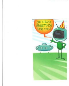 Birthday greetings for you Card