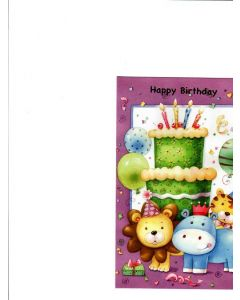Happy Birthday Card - Birthday Party