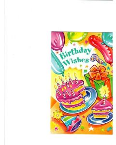 Birthday Wishes Card - Birthday Party