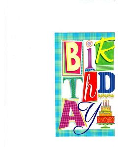 Birthday Card - Best Wishes